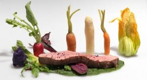 Gemüse Speisenveredler