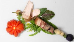 Duroc Schweinekotlett